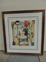Contemporary print with custom frame in Plainfield, Illinois