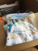 2nrand new baby hats blue still in package in Camp Lejeune, North Carolina