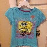 New Girls Spongebob Shirt size 5 in Batavia, Illinois