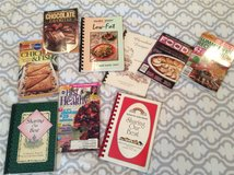 Selection of cookbooks in Kingwood, Texas