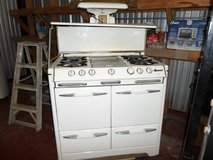 Antique vintage gas stove in Kingwood, Texas