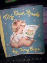 Vintage Washable Cloth Picture Book - My Own Book in Alamogordo, New Mexico