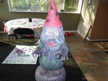 Zombie halloween troll for outside decoration in Algonquin, Illinois