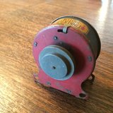 tinkertoy motor from the 1940's in Aurora, Illinois