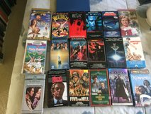 Movies VCR 0.50 each one in Morris, Illinois