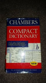 Chambers Dictionary (Hard back) in Lakenheath, UK