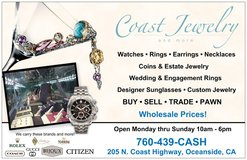 Jewelry, Engagement Ring, Wedding Band,  Gold Silver Platinum coins in Camp Pendleton, California