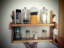 wood spice rack (hand made) in Ramstein, Germany