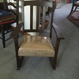 Antique Rocking chair refinished in Fort Knox, Kentucky