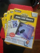 Jewel case inserts in Joliet, Illinois