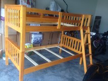 TWIN BUNK BED with mattresses in Fort Leonard Wood, Missouri