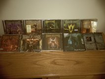 10 Cradle of Filth CD's & 2 Music Videos in DeKalb, Illinois