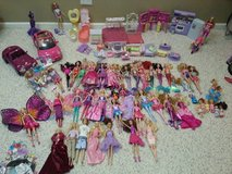 Barbie collection in Joliet, Illinois