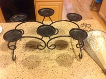 Iron candle holder in Kingwood, Texas