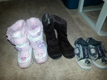 Toddler Size 8 boots/ shoes in Joliet, Illinois