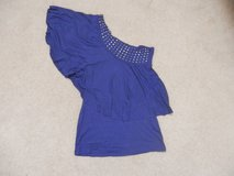 One Sleeve Royal Blue Top in Fort Riley, Kansas