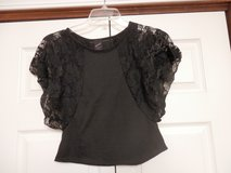 Black Bat Sleeve Lace Top in Fort Riley, Kansas