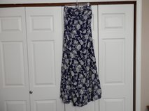 Blue and White Maxi dress in Fort Riley, Kansas