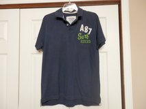 Aeropostale Blue Polo Shirt in Fort Riley, Kansas