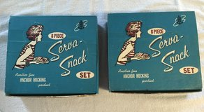 Anchor Hocking 8pc Serva Snack Set in Elizabethtown, Kentucky