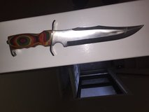 Beautifully crafted knife in Camp Pendleton, California