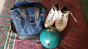 Bowling Ball/Shoes/Bag in Camp Pendleton, California