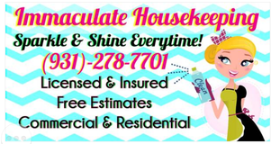 Immaculate Housekeeping- Residential and Commercial. Specialized in deep cleaning move out services in Fort Campbell, Kentucky