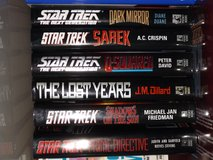 Star Trek Books - Collection 1 in Alamogordo, New Mexico