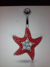 starfish belly ring in Camp Lejeune, North Carolina
