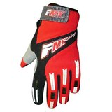 FMX Gloves red black cloth padded palm riding MX or ? never used in San Ysidro, California
