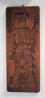 Hand Carved Wood Dutch Speculaas Christmas Cookie Molds  at 1920 in Ramstein, Germany