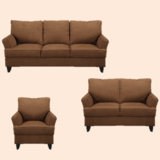 Oakland - Sofa + Loveseat - Coco color - SPECIAL - monthly payments possible in Cambridge, UK