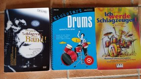 Drum books for beginners! / Schlagzeugbücher für Anfänger! in Ramstein, Germany