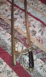 Vintage Military Sword and metal Scabbard in Alamogordo, New Mexico
