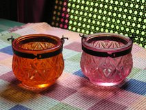 Heavy Glass Hanging candle Holders in Hopkinsville, Kentucky