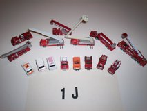 Micro Machines Emergency Vehicle collection set 1-J in Alamogordo, New Mexico