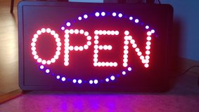 LED Open Sign in Naperville, Illinois