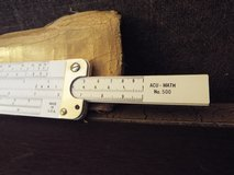 Made in U.S.A. Slide Rule w/Case *Vintage* in Camp Lejeune, North Carolina