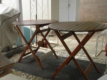 Folding, Wood, Camping Table in Alamogordo, New Mexico