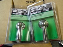 Brushed nickel universal shower/sink knobs in Fairfield, California