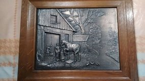 Pewter picture horse, very detailed in Baumholder, GE