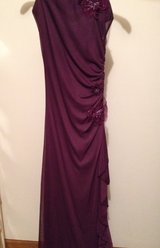 Strapless polyester chiffon  embellished gown in Bartlett, Illinois