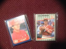 25 Assorted Cincinnati Reds Baseball Cards 80's-90's in Camp Lejeune, North Carolina