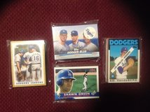 25 Assorted Los Angeles Dodgers Baseball Cards 80's-90's in Camp Lejeune, North Carolina