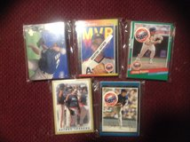 25 Assorted Houston Astros Baseball Cards 80's-90's in Camp Lejeune, North Carolina