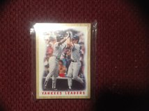 25 Assorted New York Yankees Baseball Cards 80's-90's in Camp Lejeune, North Carolina