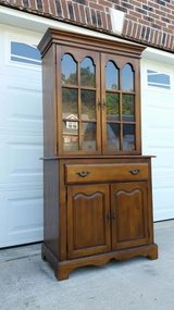 Solid Maple China Hutch in Fort Campbell, Kentucky