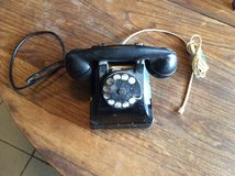 Vintage Early Rotary 302 desk phone (metal) in Alamogordo, New Mexico