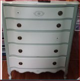 Chest of 5-drawers  Lt wght wood call 630-251-8244 sturdy-must C in Naperville, Illinois