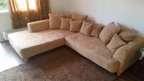 whole living room set Great deal xxl couch in Stuttgart, GE